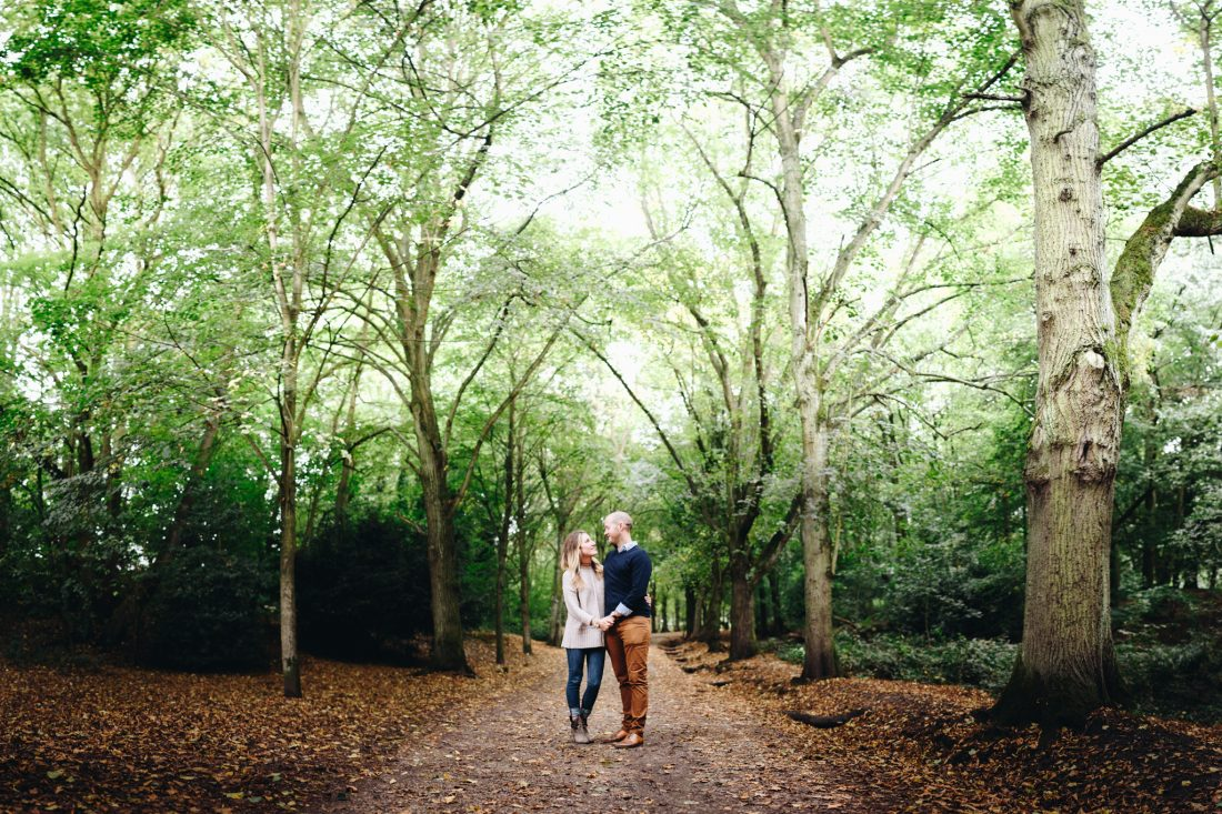 woodland engagement shoot