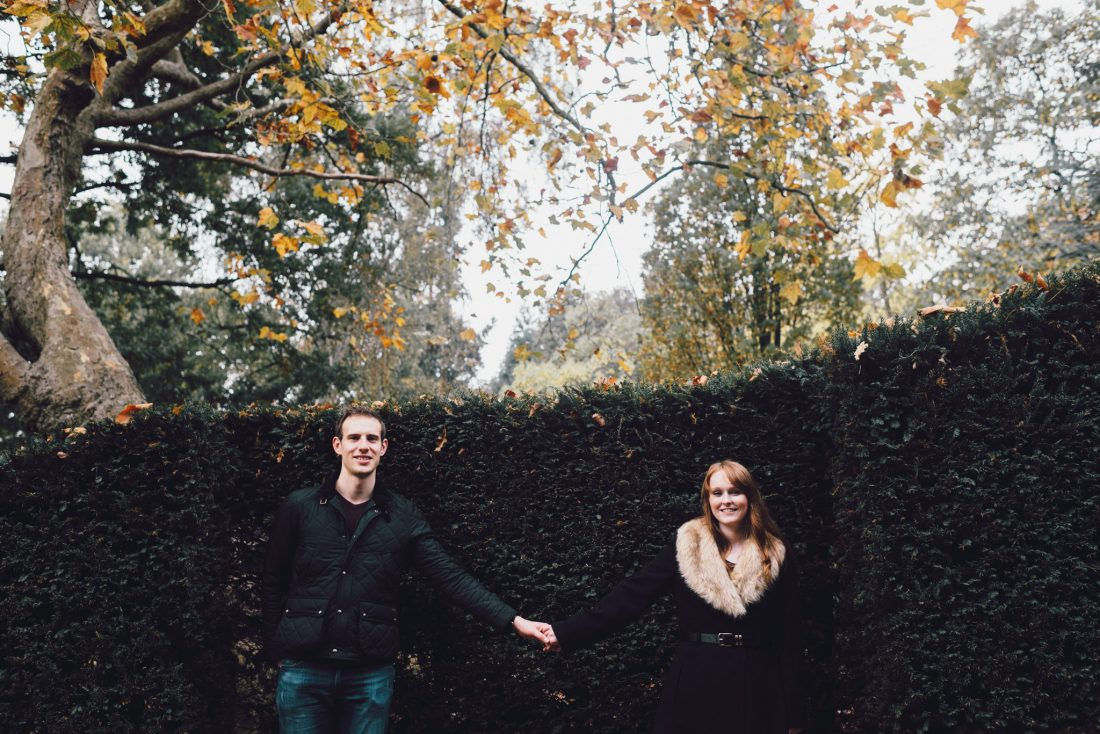 Holland Park engagement shoot