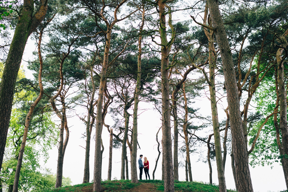 North London park engagement photography
