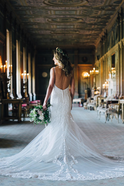 Syon House bridal portrait