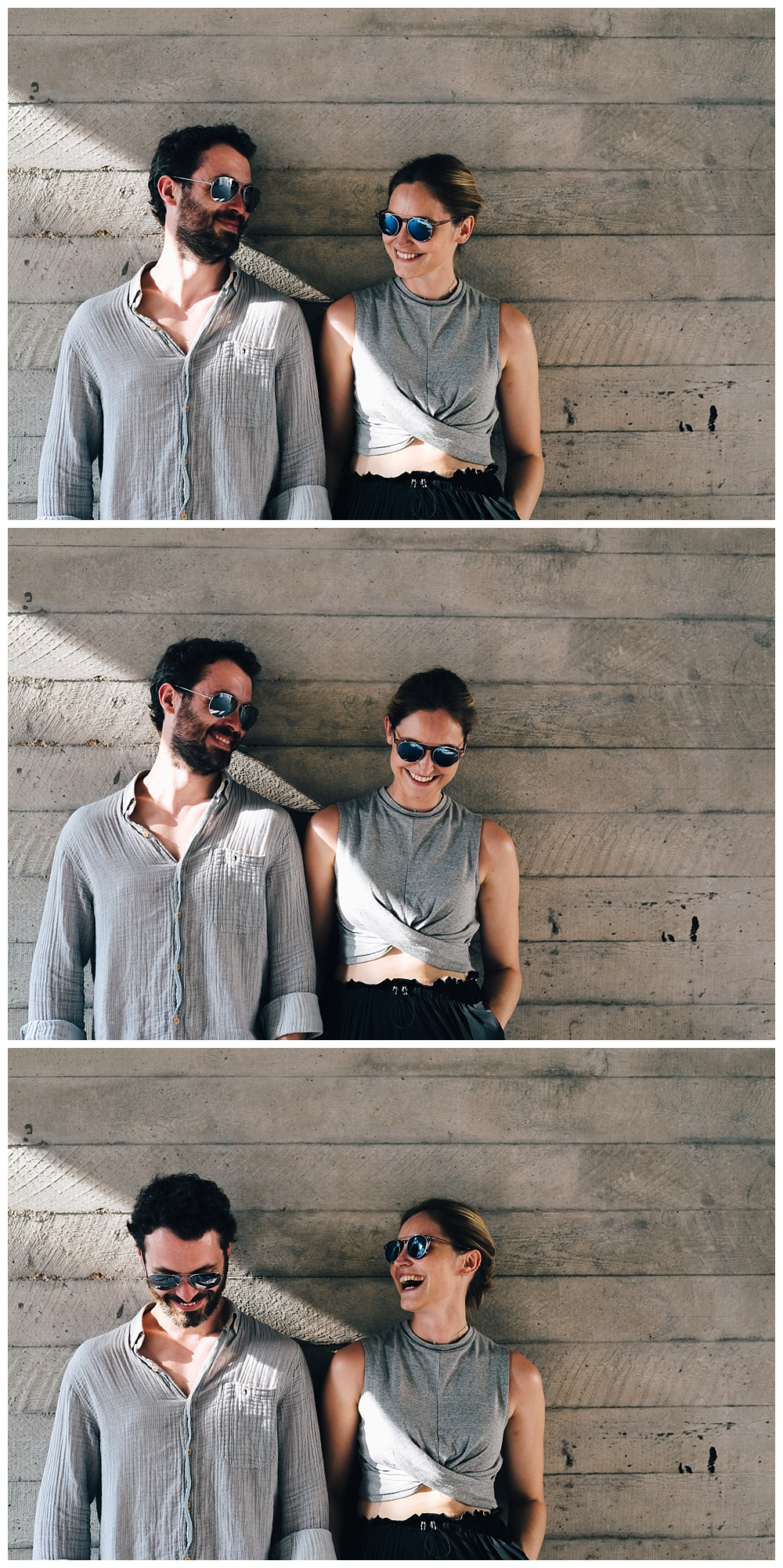 Southbank concrete for a stunning engagement shoot