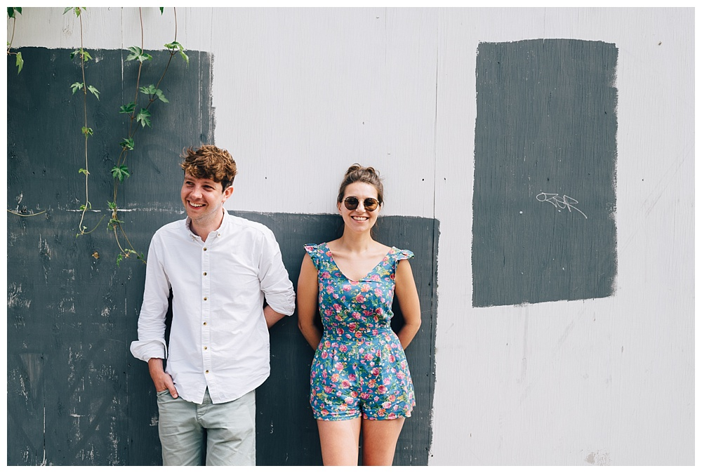 Jess and Nick's Haggerston engagement shoot