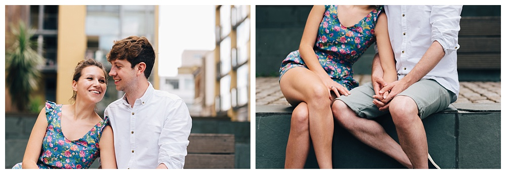 Couples engagement shoot in London