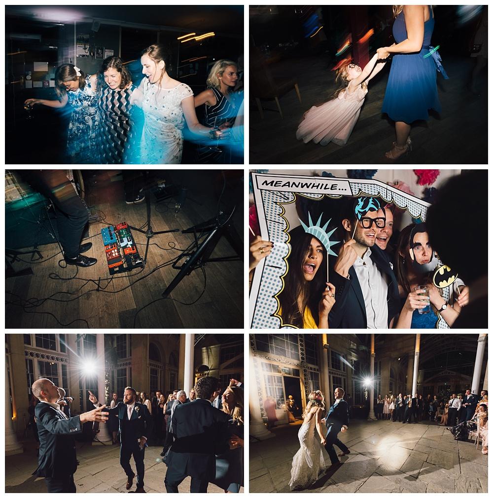 Wedding day dancing