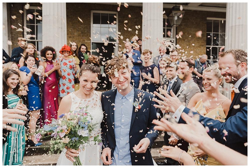Stoke Newington confetti wedding