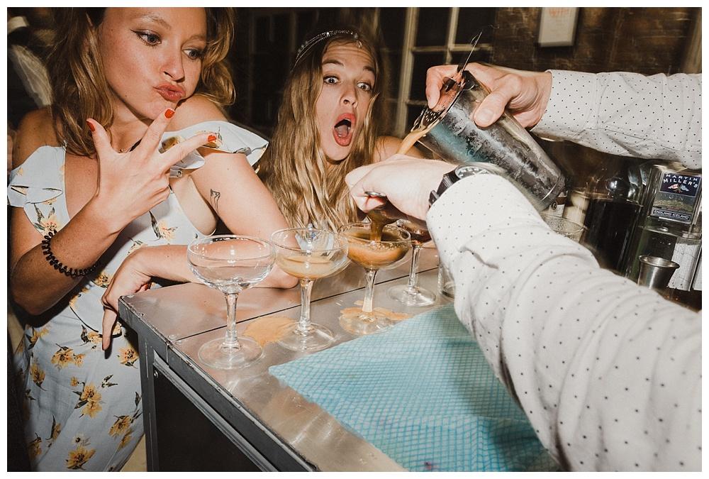 Wedding reception cocktail bar - Wedding Photography Approach