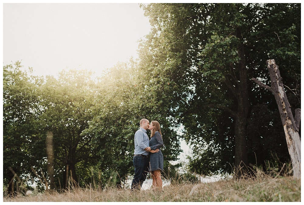 Brockwell park engagement shoot