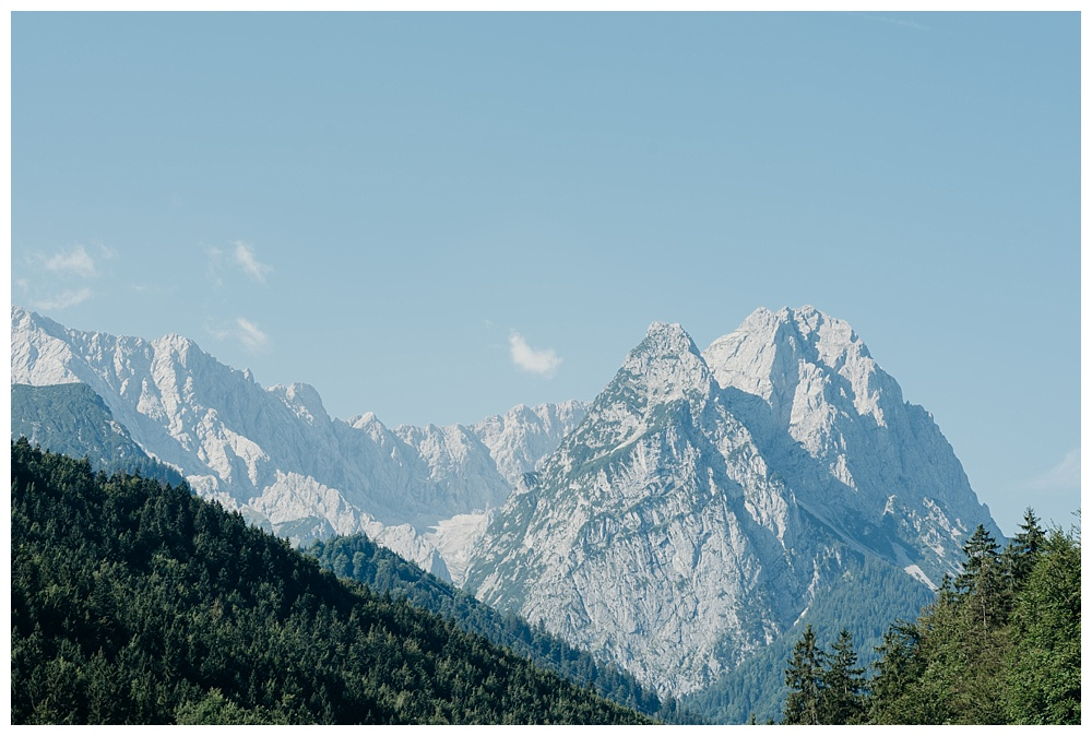 Bavarian destination wedding photographer - Alpine views