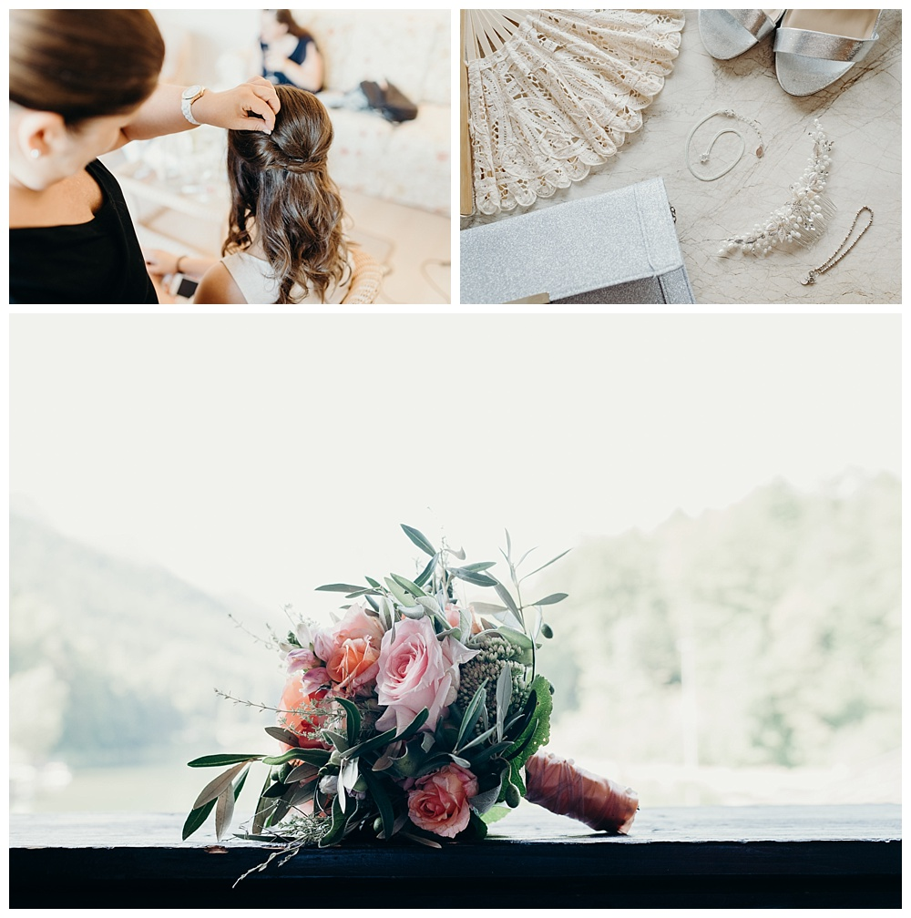 Bavarian destination wedding photographer - wedding prep