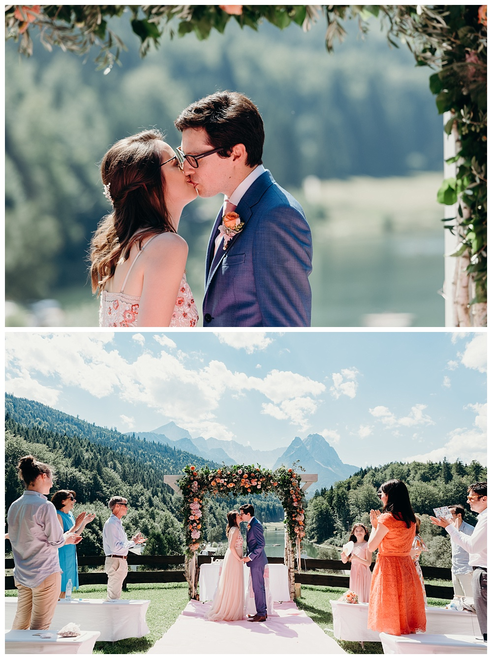 Garmisch Partenkirchen wedding photography ceremony