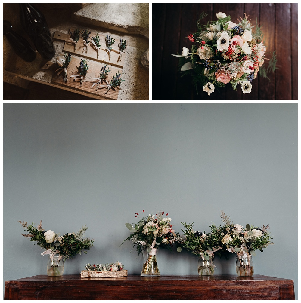 Chateau Rigaud wedding flowers by Heidi Lee