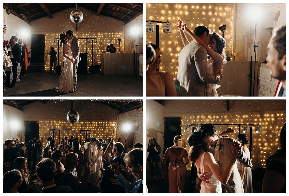 Bordeaux wedding photographer - first dance
