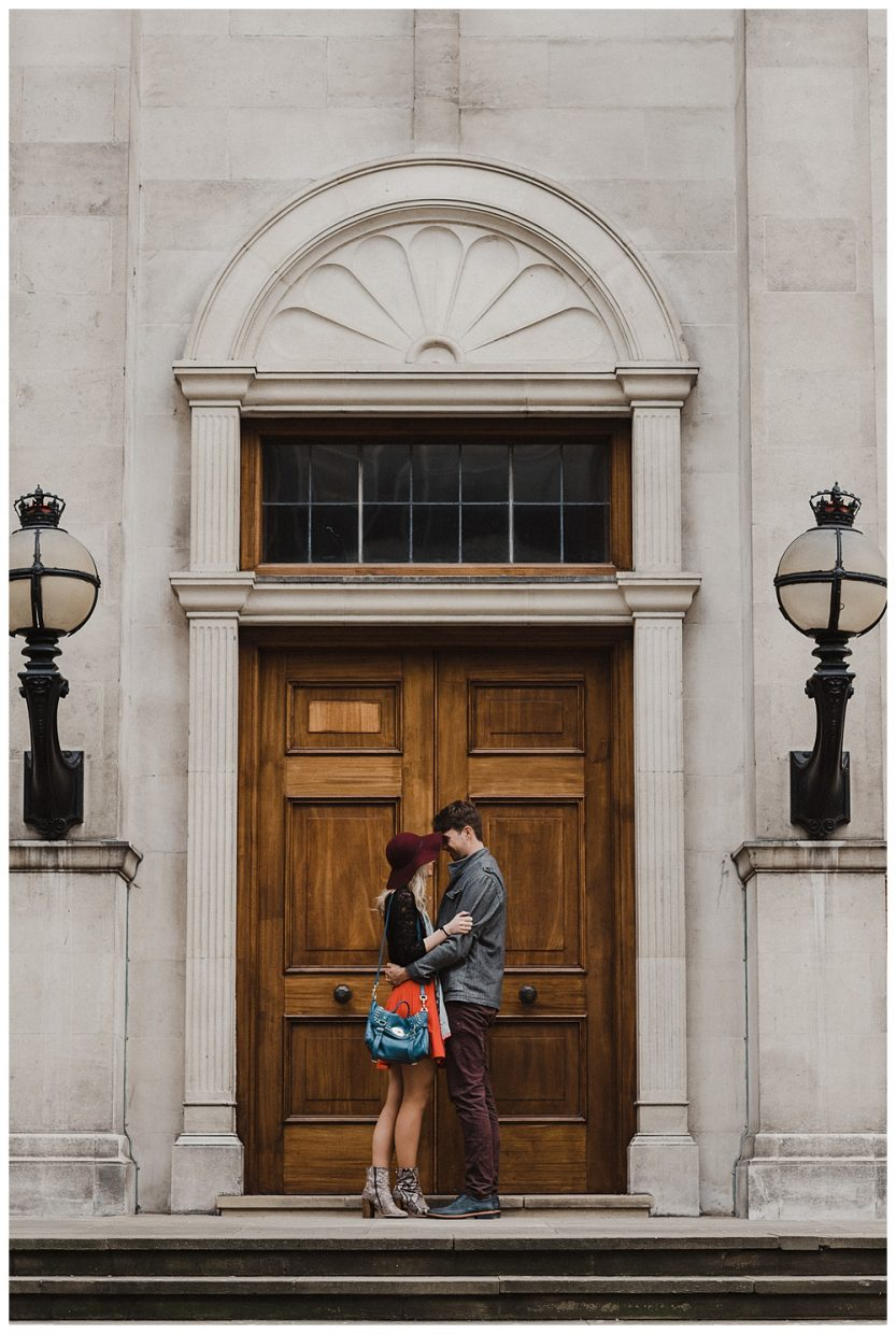 London wedding photographer - Kensington Engagement Shoot.