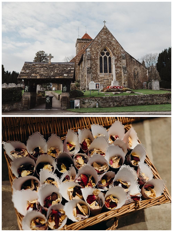 Church in Chiddingfold, Surrey.