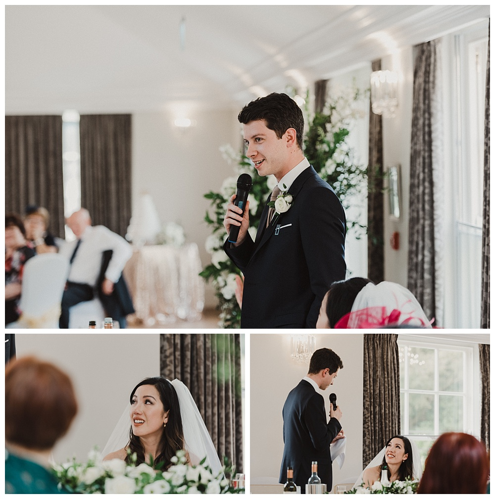 Barton Hall Wedding Speeches