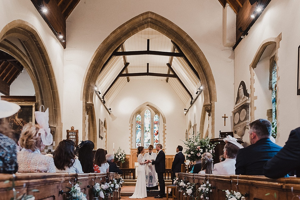 Will Patrick Photography West Sussex Church Wedding Ceremony