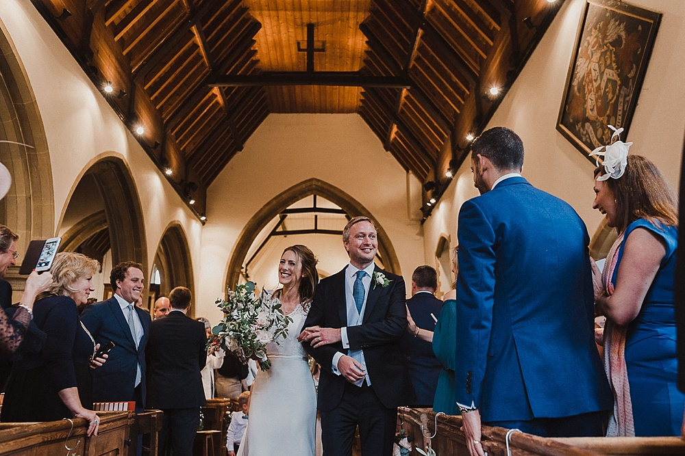 West Sussex Church Wedding Ceremony