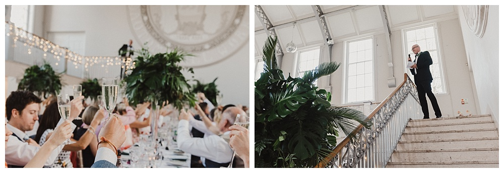 Palm Tree Theme Wedding Flowers