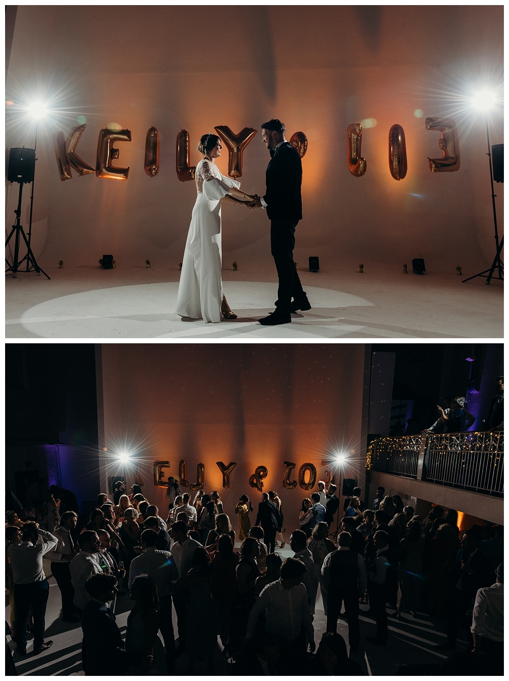First dance Sunbeam Studios West London Wedding