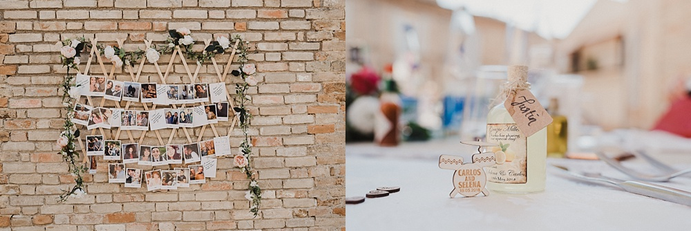Italian Destination Wedding Reception
