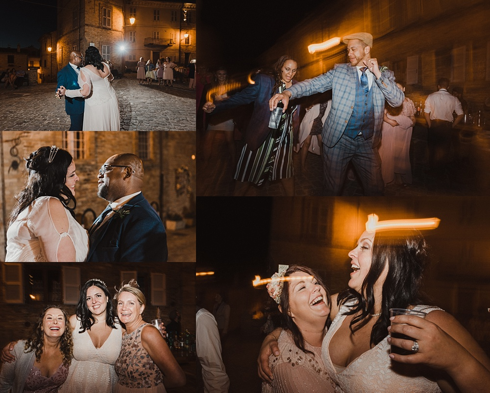 Will Patrick Photography Italian Destination Wedding Dancefloor